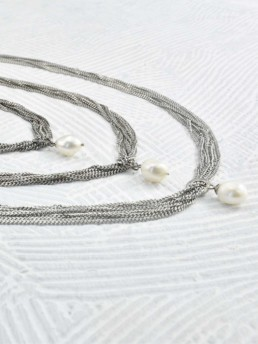 Proud Pearls new collection Goddesses necklaces