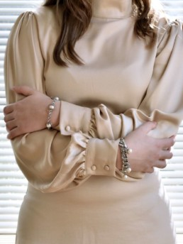 Proud Pearls new collection Goddesses bracelets