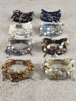 Proud Pearls new collection Bohemian bracelets