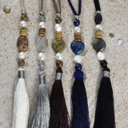 Proud Pearls new collection Bohemian necklaces Tassels & Gems