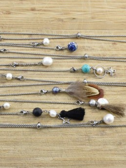 Proud Pearls new collection Bohemian choker necklaces