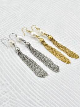 Proud Pearls new collection Goddesses earrings