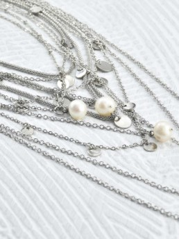 Proud Pearls new collection Goddesses layered necklaces